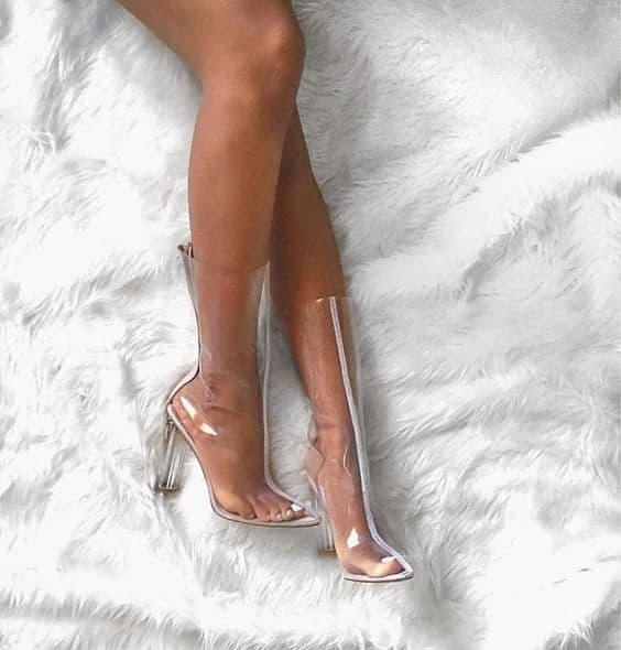 Shoes Transparent High Heels
