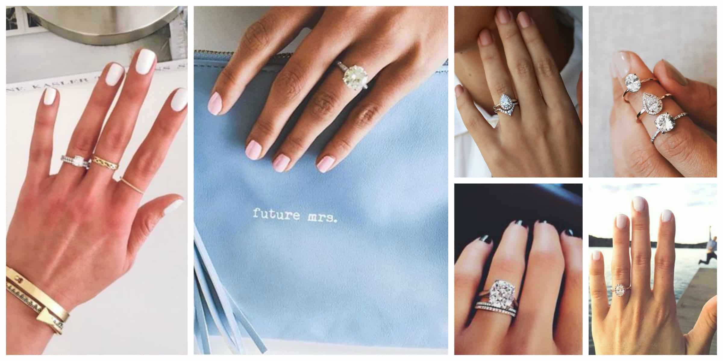 how-to-wear-engagement-rings