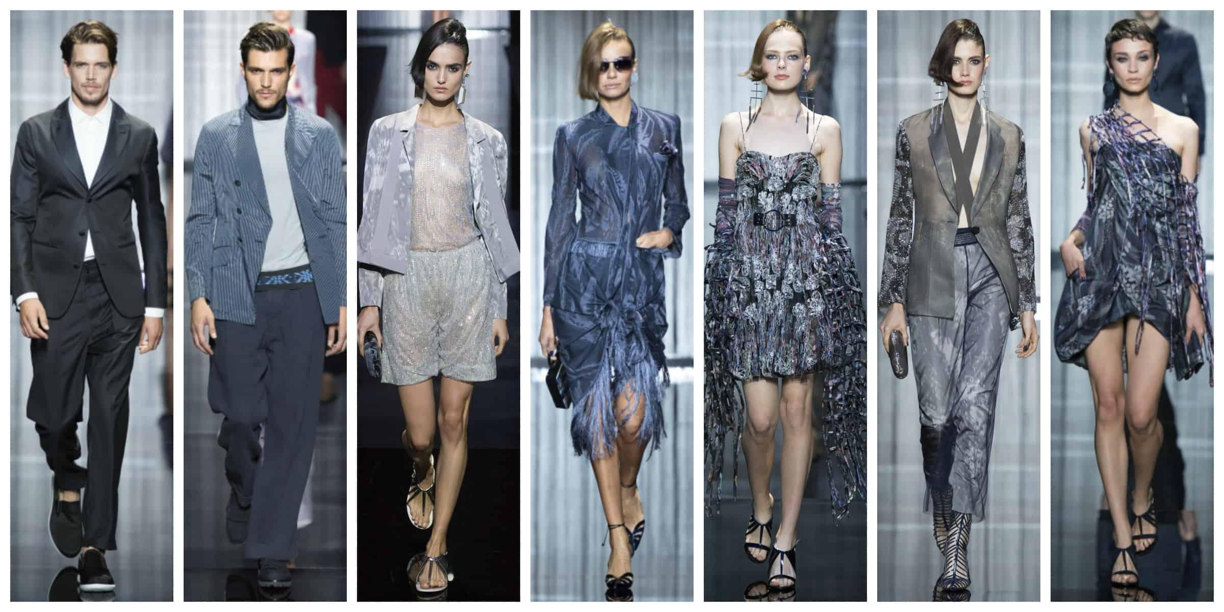 Армани - Милан Неделя Моды Весна 2017