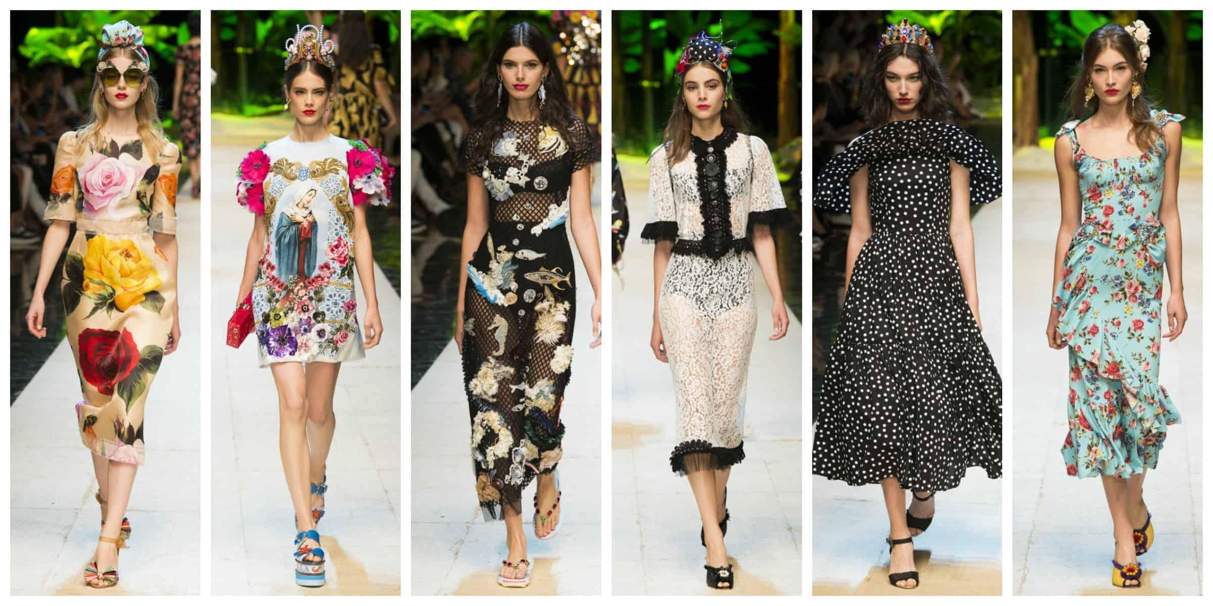 Dolce & Gabbana - Milan Fashion Week Spring 2017