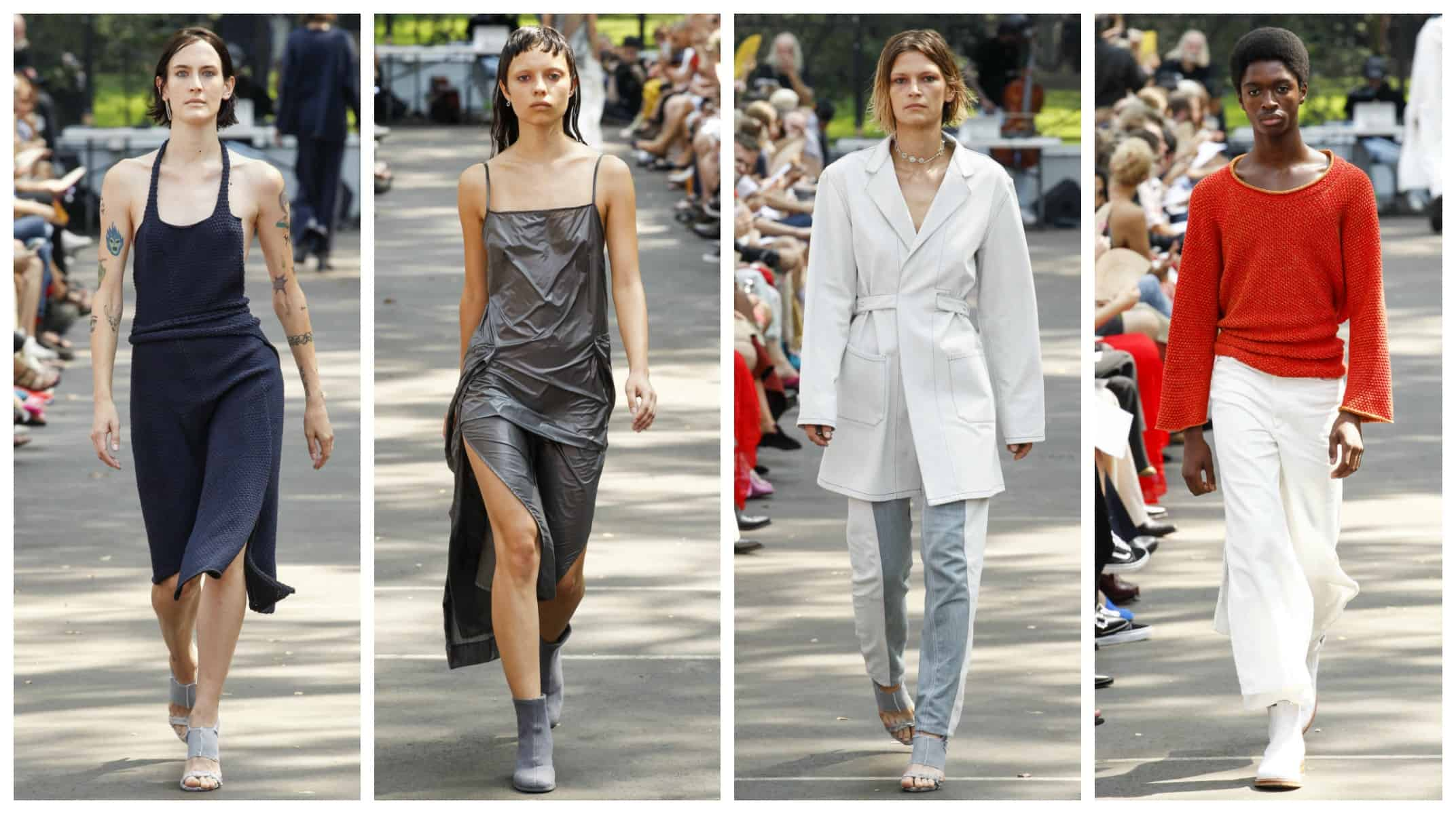 New York Fashion Week Spring 2017 - Eckhaus Latta