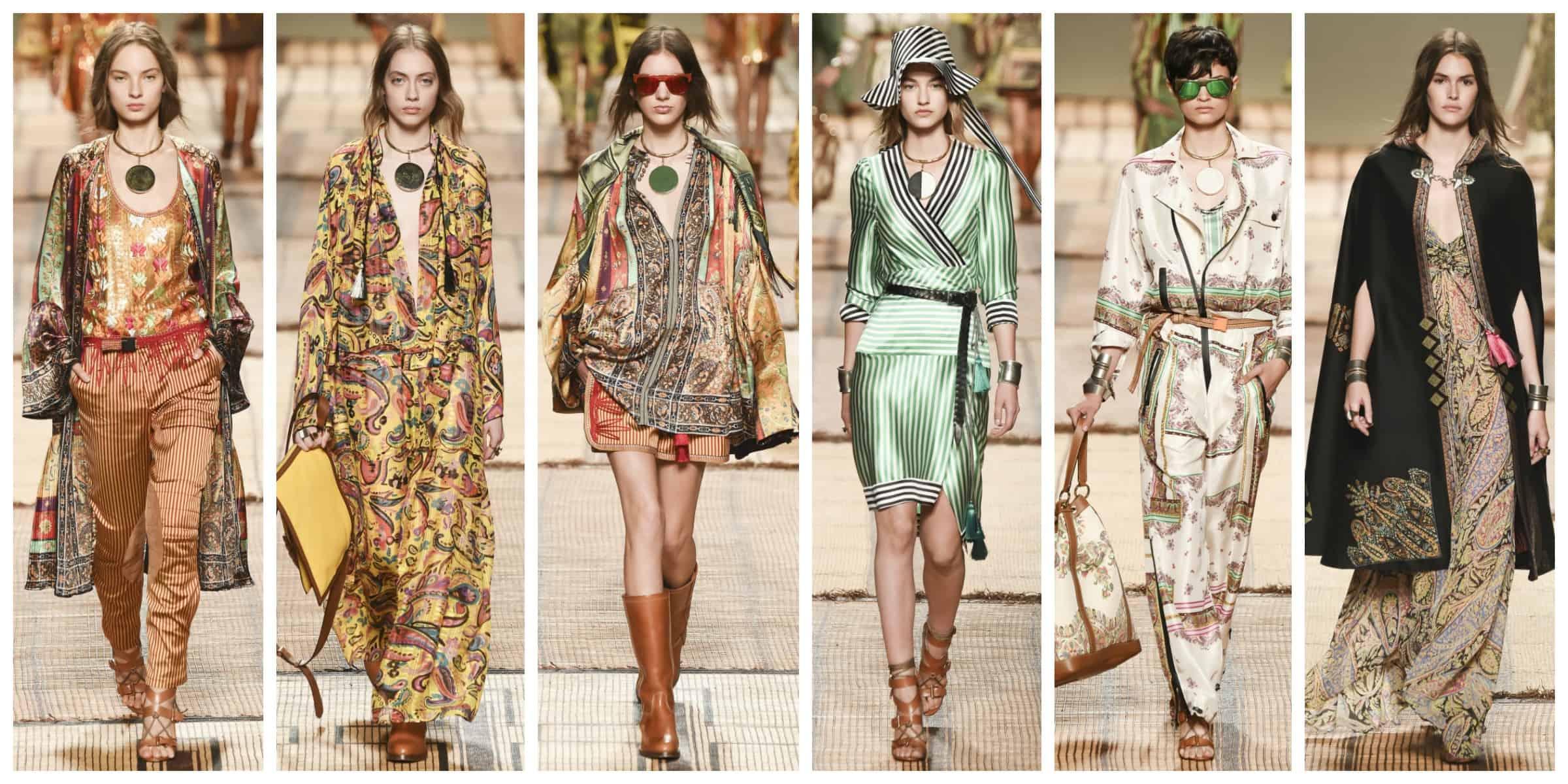 Этро - Милан Неделя Моды Весна 2017