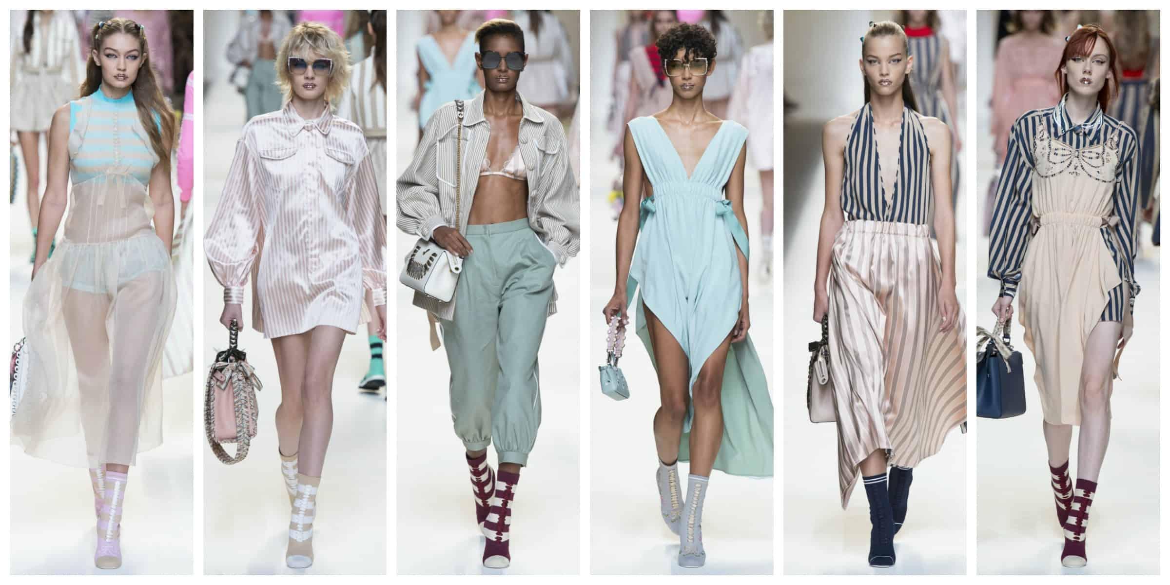 Фенди - Милан Неделя Моды Весна 2017