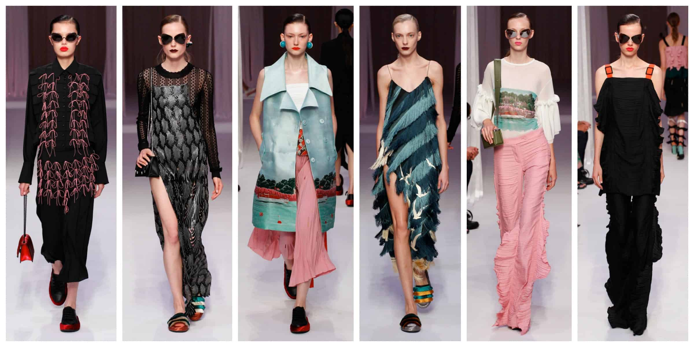Marco De Vincenzo Milan Fashion Week Spring 2017 The Fashion Tag Blog