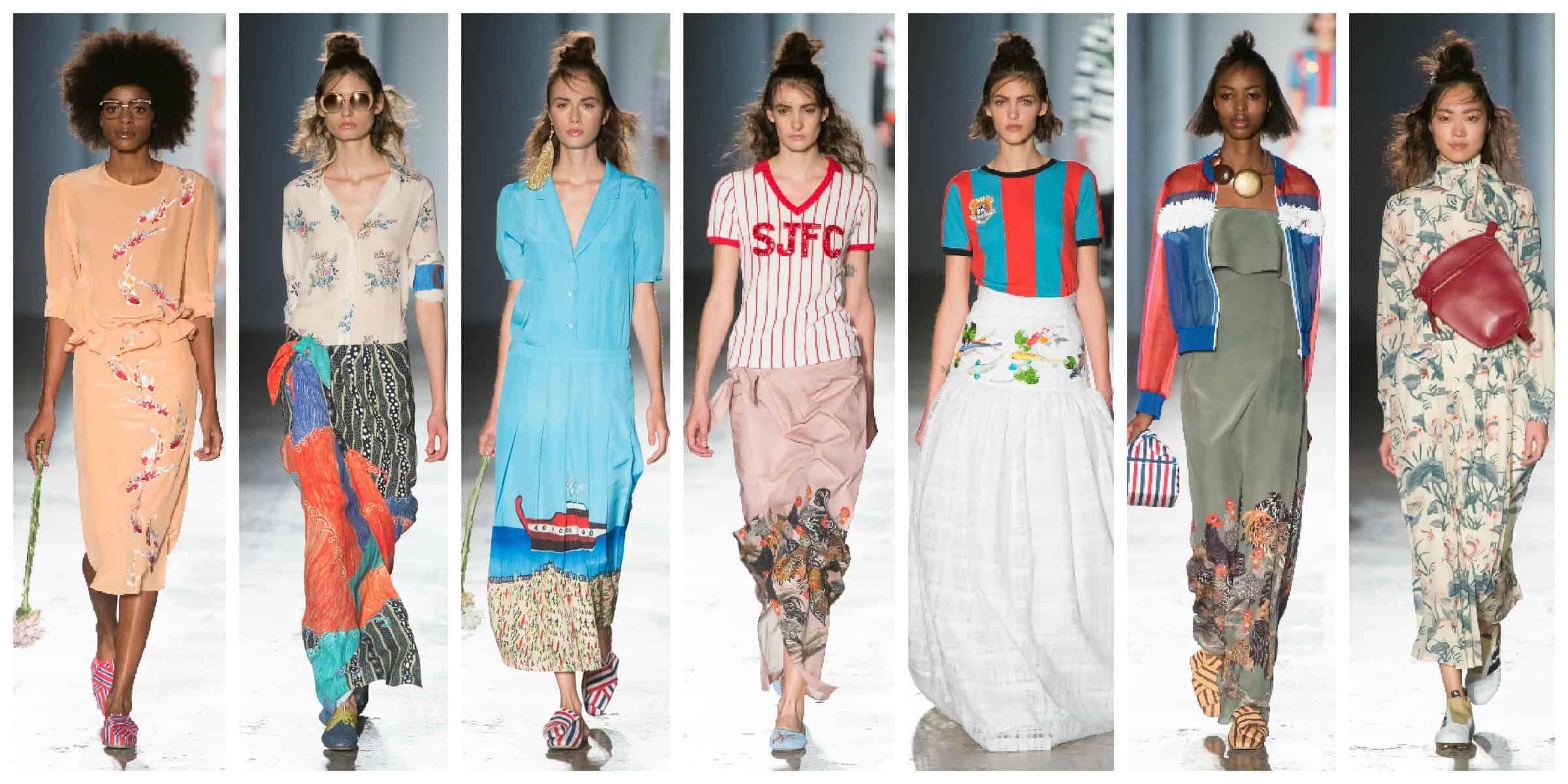 Стелла Жан - Милан Неделя Моды Весна 2017