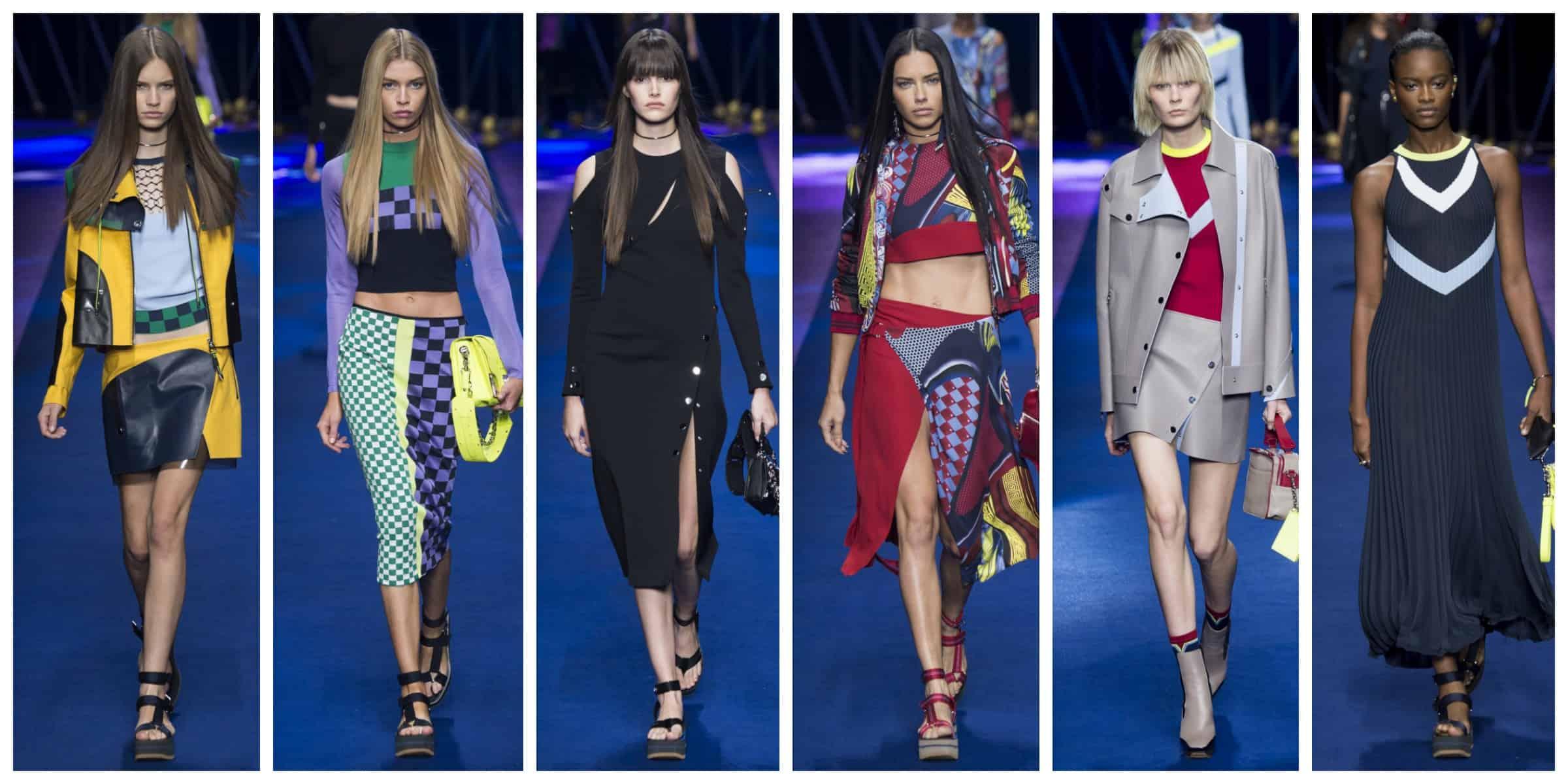 Версаче - Милан Неделя Моды Весна 2017