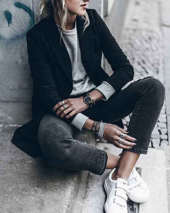Cuffed Jeans Or How To Look Effortlessly Chic? - The