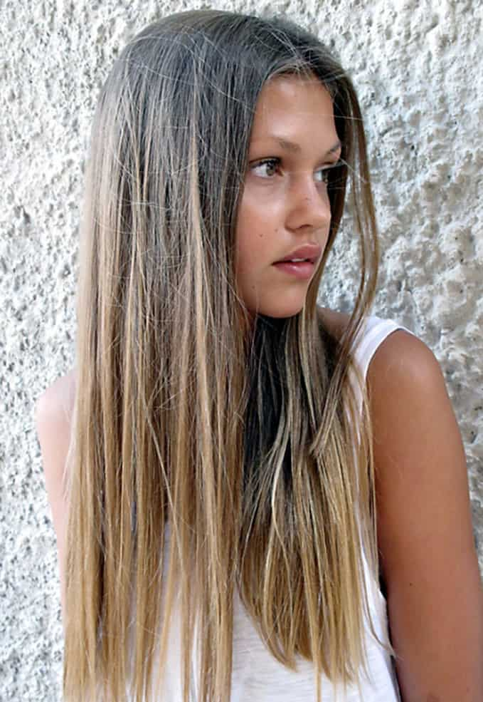 Simple Hair Trends Spring Summer 2017 Hair Trends PFW Spring Summer 2017
