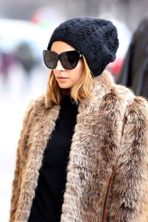 fur-beanie-sunglasses-black-turtleneck