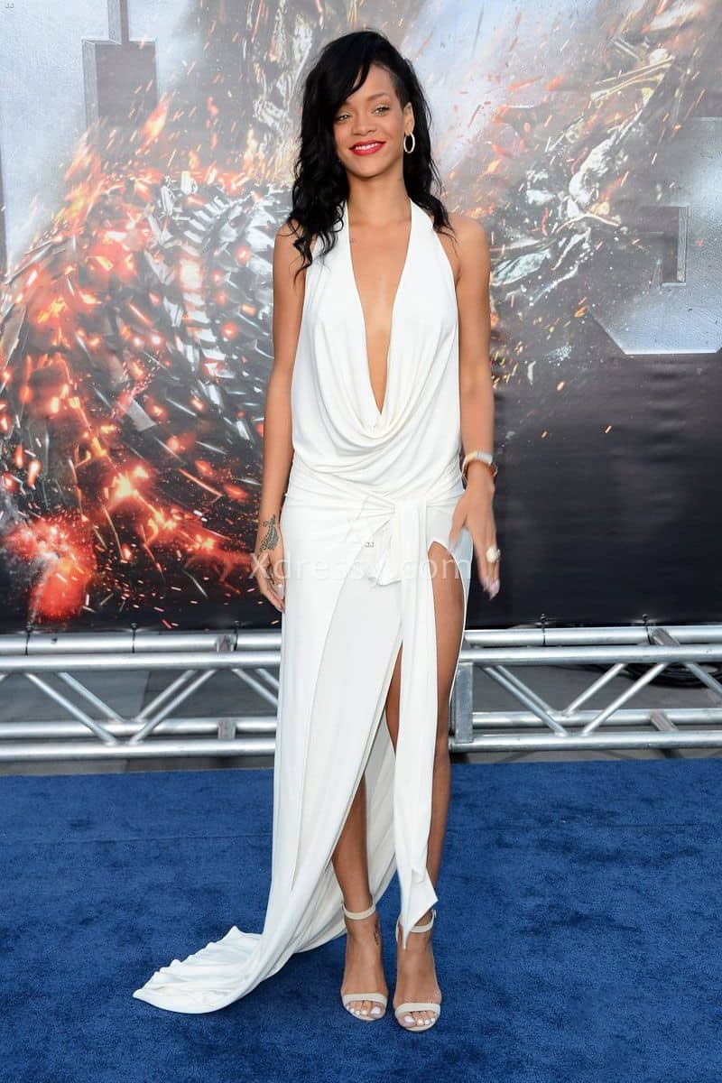 rihanna-sexy-open-back-halter-plunging-slit-white-prom-dress-battleship-premiere-1