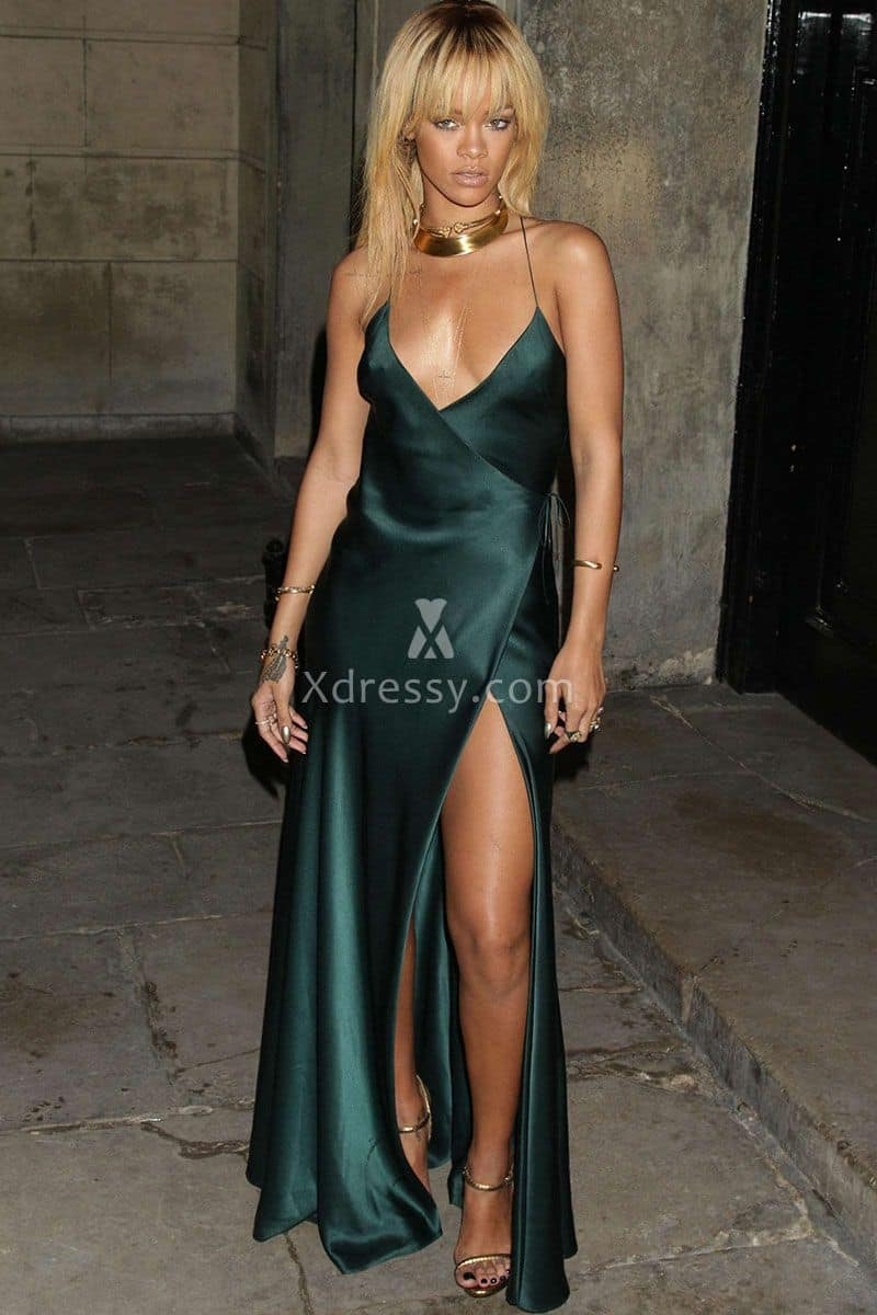 rihanna-sexy-teal-charmeuse-prom-dress-stella-mccartney-for-london-fashion-week-1