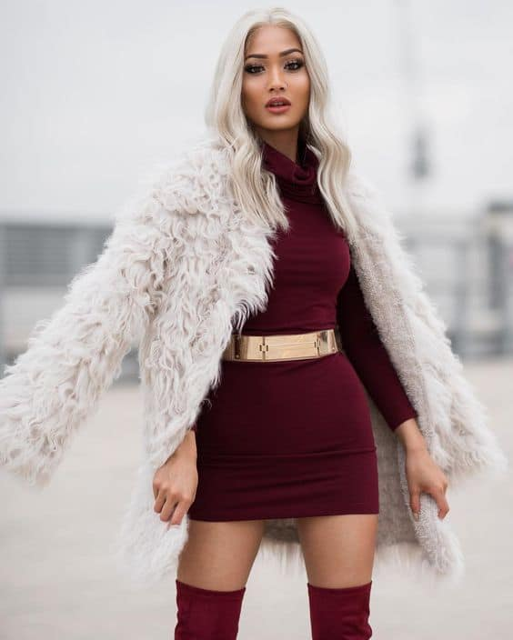 2017 Winter Trend Faux Fur Coats The Fashion Tag Blog