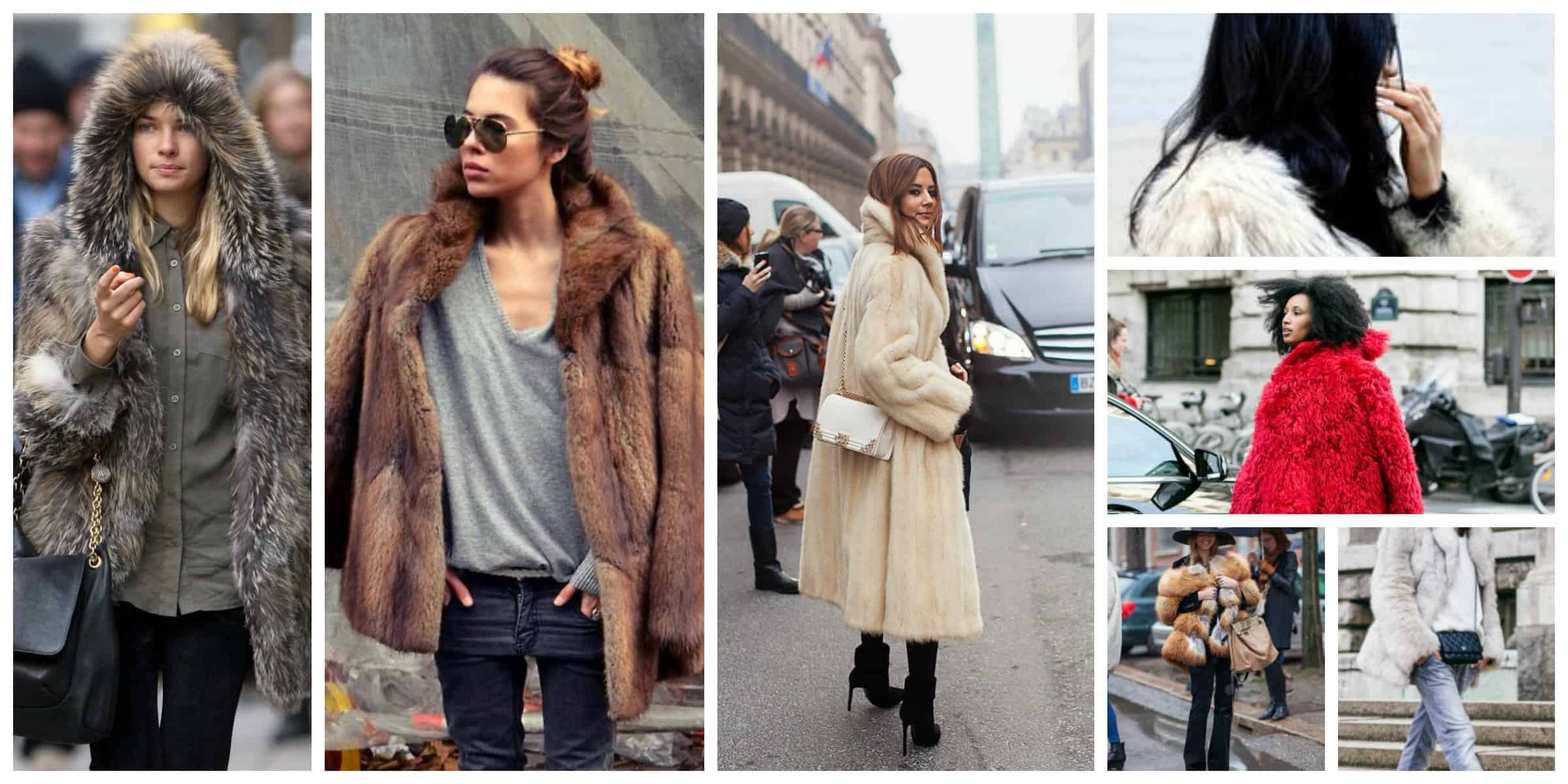 Fashionable fur coats fall-winter 2017-2018 23