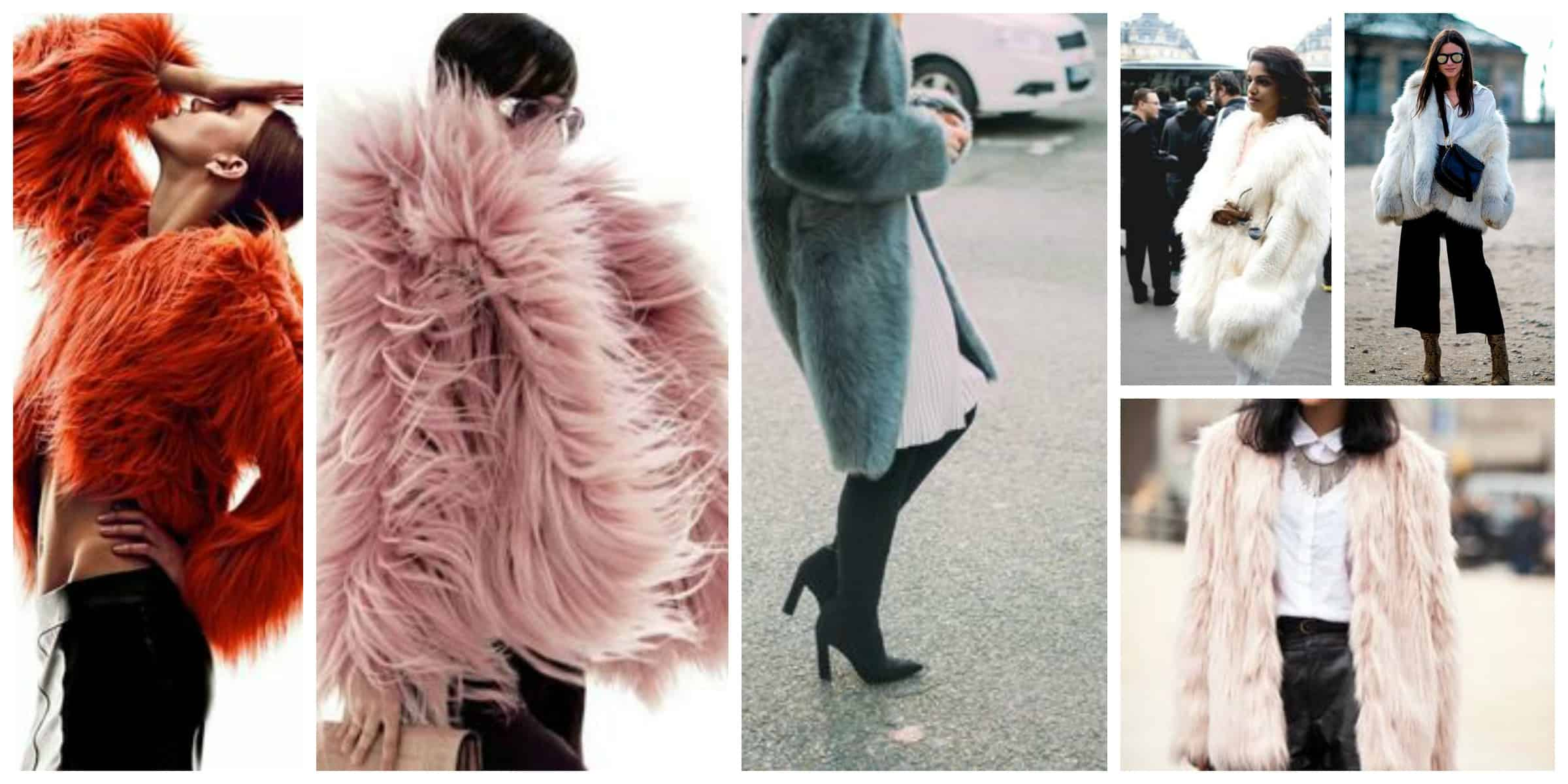 Fashionable fur coats fall-winter 2017-2018 20