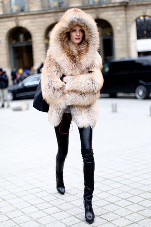 2017 Winter Trend: (Faux) Fur Coats | Fashion Tag Blog