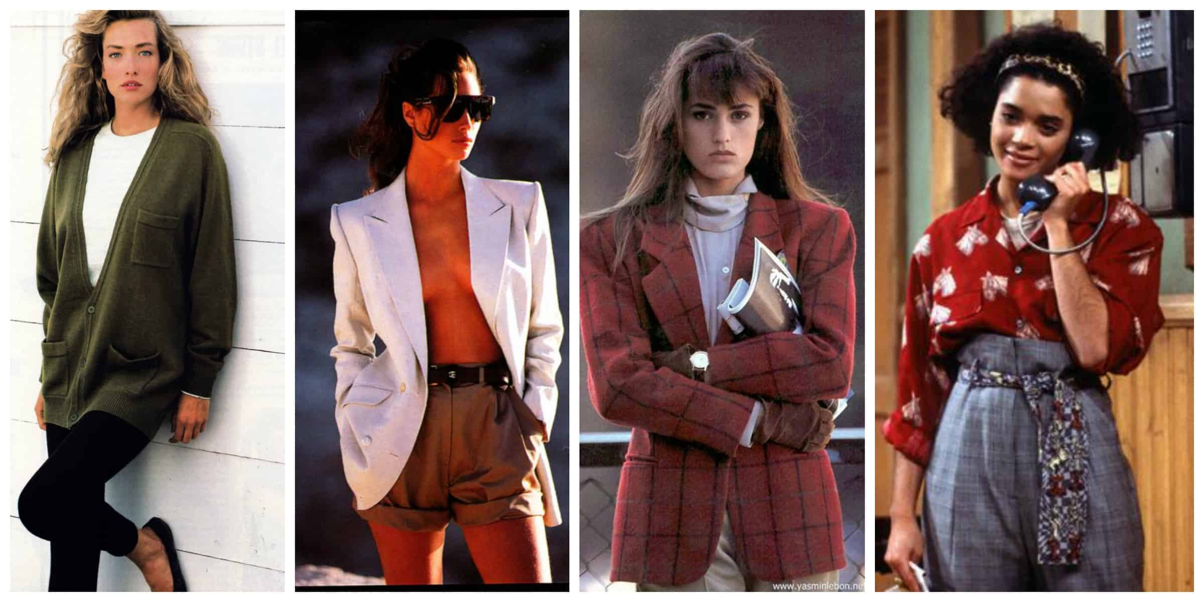 Fashion look of the eighties 65