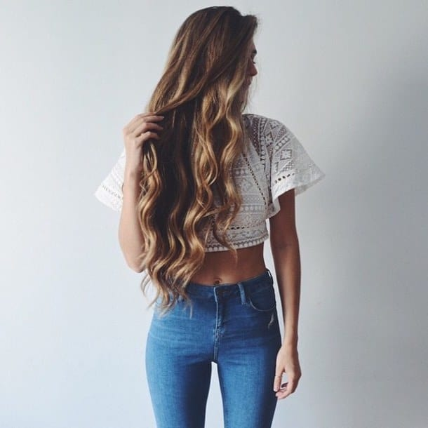 Cherhair Is Waist Length Hair The New Look The