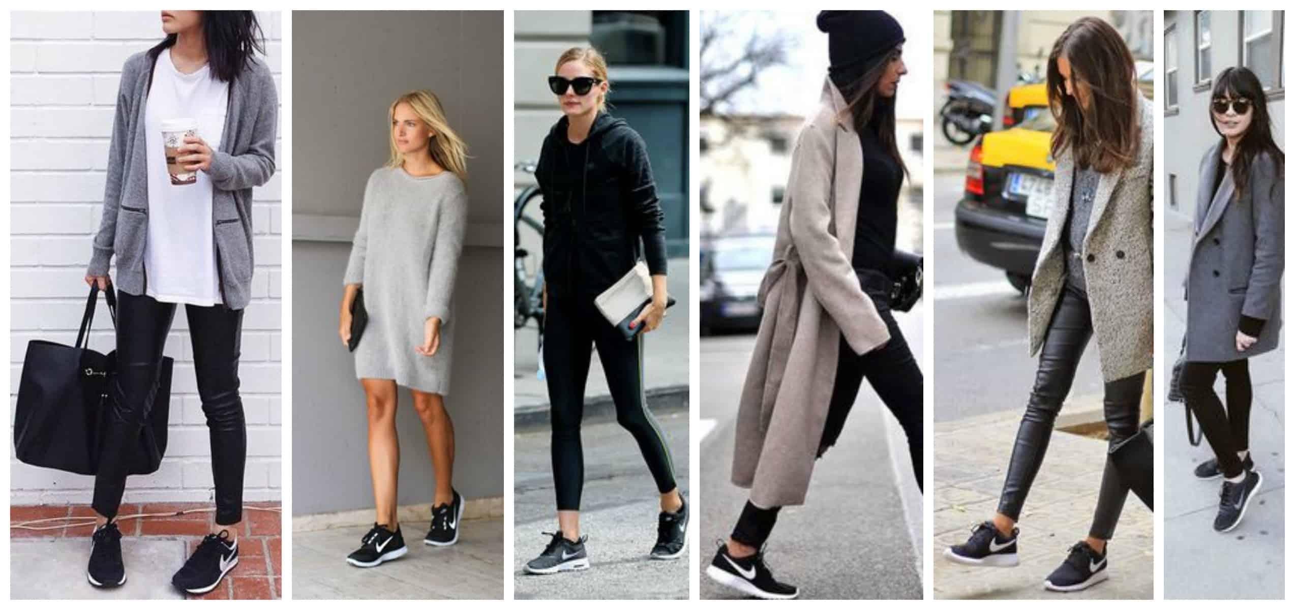 2017 trend alert black sneakers the fashion tag blog. Black Bedroom Furniture Sets. Home Design Ideas