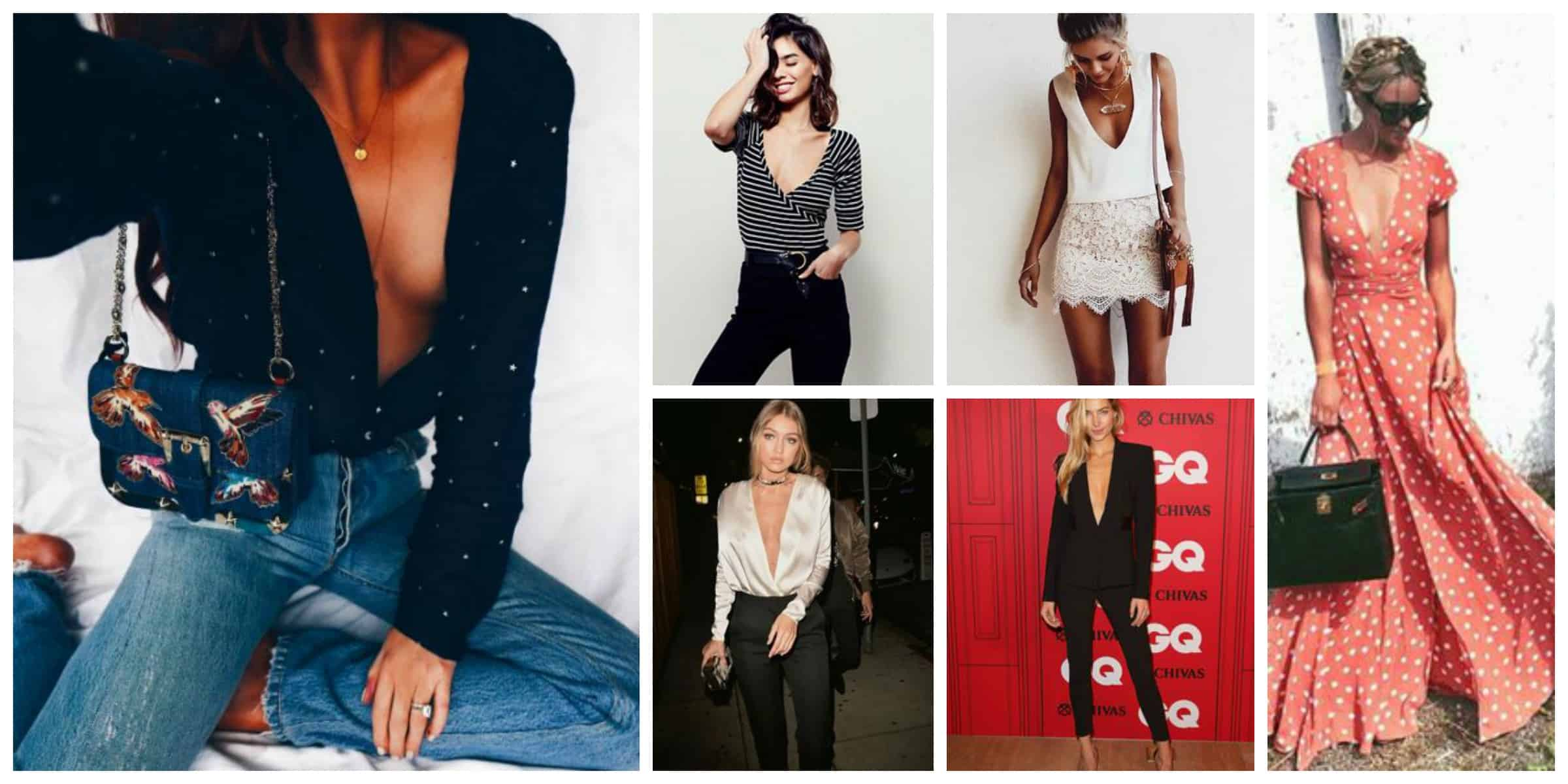 08f8066cbb24 How To Wear Low-Cut Tops In 2017  – The Fashion Tag Blog