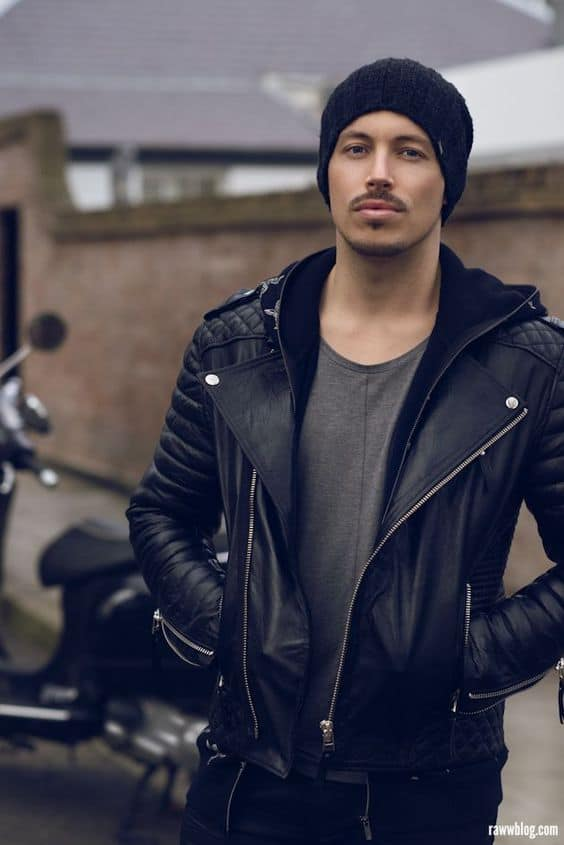 Leather Jackets For Men How To Wear Them In 2017 Spring