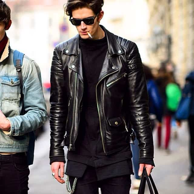 Fashion leather jackets for men 84