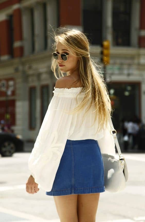 off the shoulder tops how to wear this springs sexy