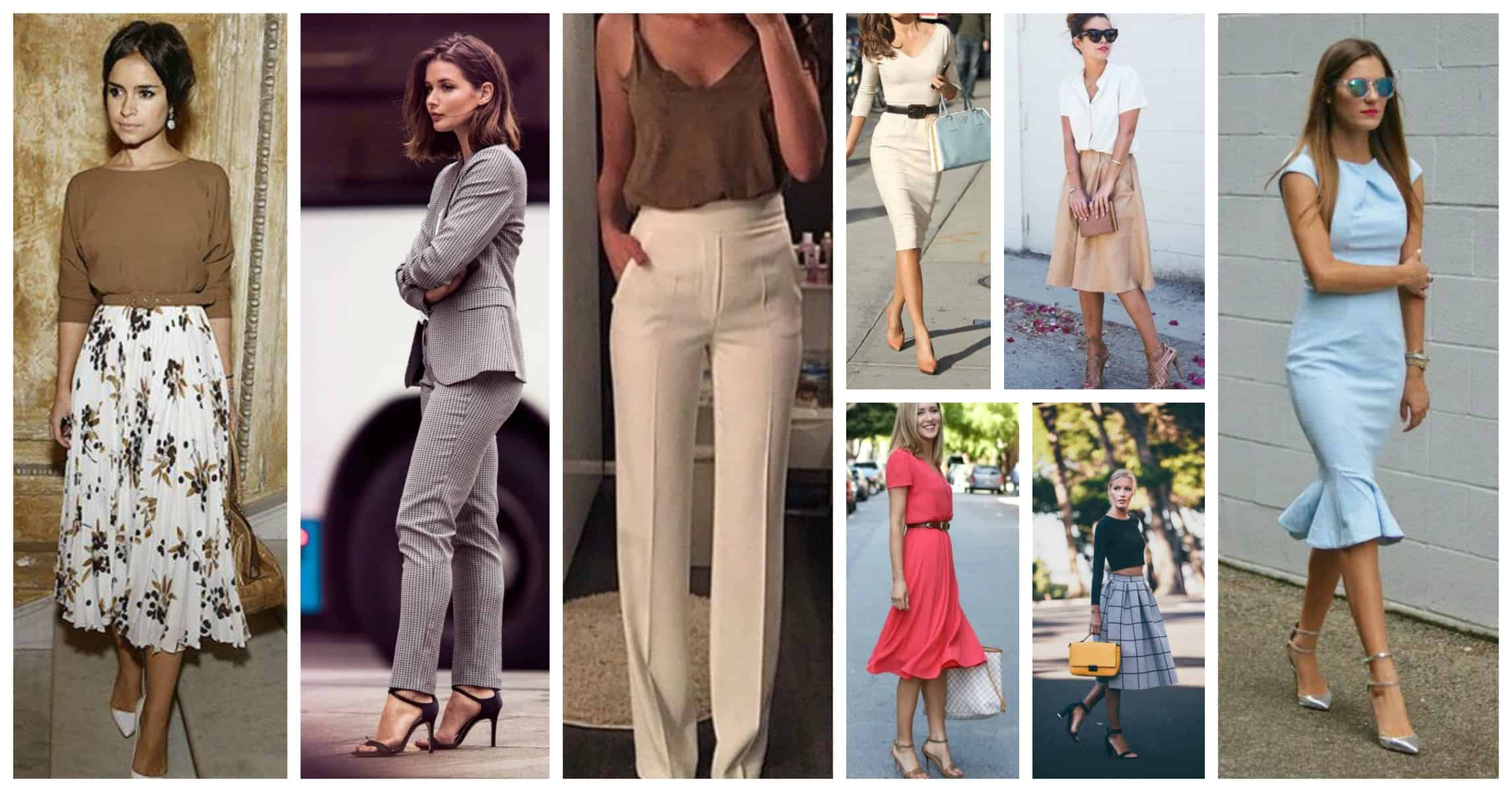 fcc79b1d3488 Spring Office Outfits. Business Attire For Women Who Run The World ...