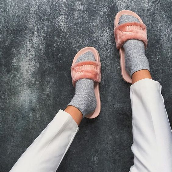 6db5dc8a6250c Fur Shoes  This Summer s Biggest Shoe Trend ! – The Fashion Tag Blog