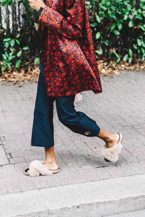 Fur Shoes This Summer S Biggest Shoe Trend The