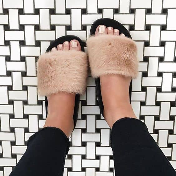 Fur Shoes: This Summer's Biggest Shoe Trend?!