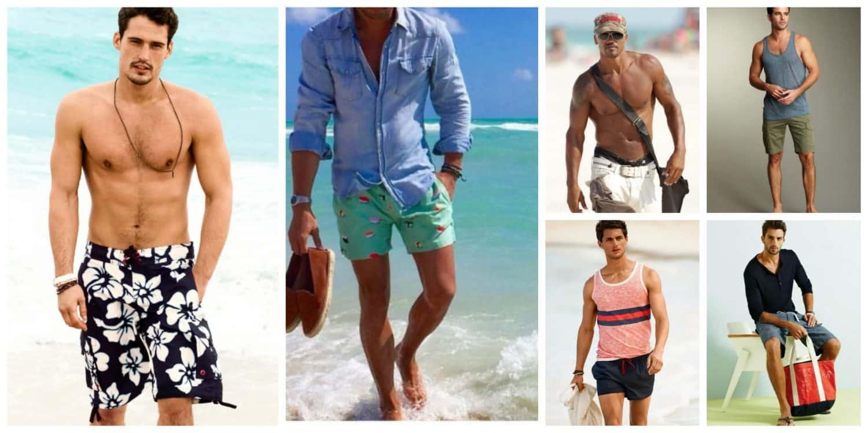 mens beach trends