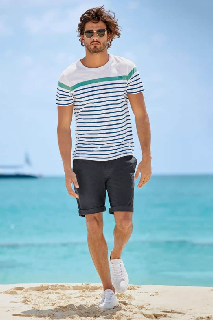 Men's Beach Trends: Wh...