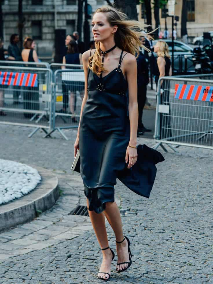 Slip Dress Outfits Summer Street Style 9 The Fashion Tag Blog