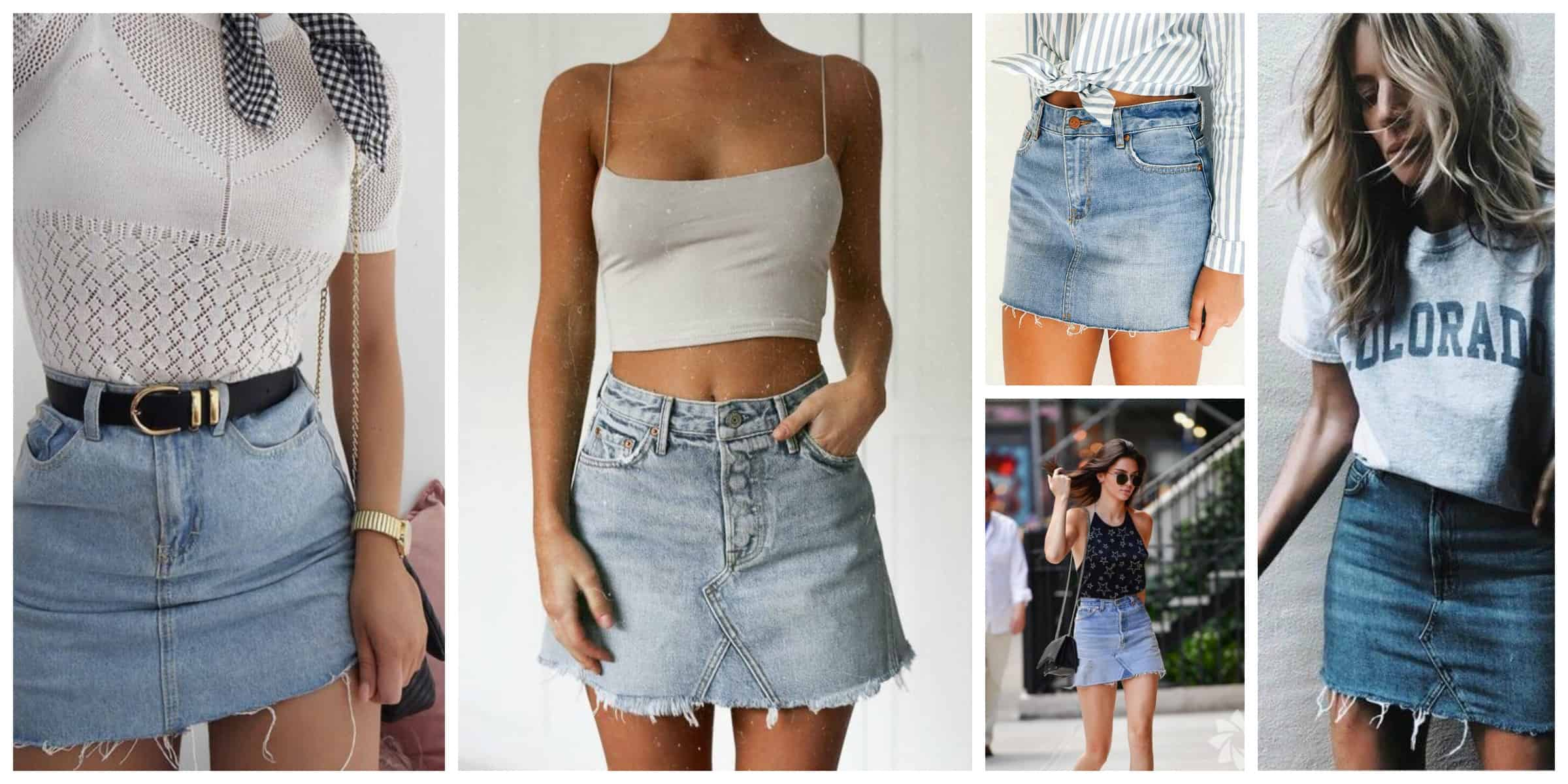 9d4005290c6dc Why it s okay to wear the denim skirt in 2017 if you re not a teen anymore