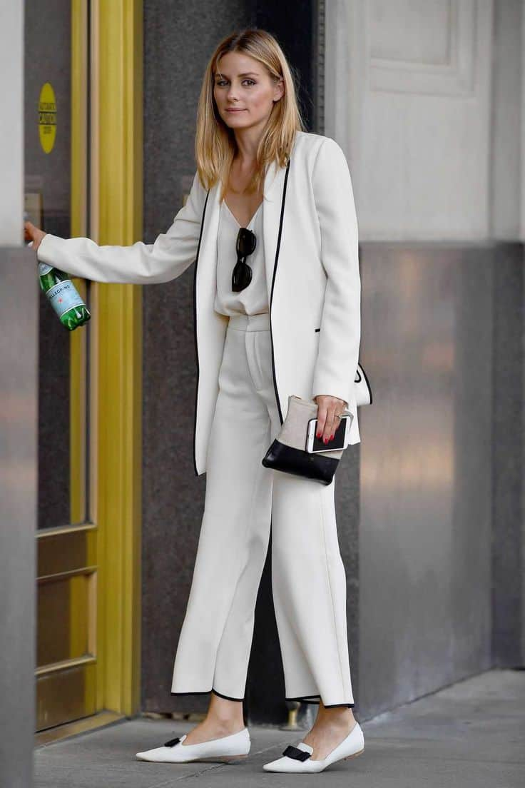 Street Style Office Wear Power Suit The Fashion Tag Blog