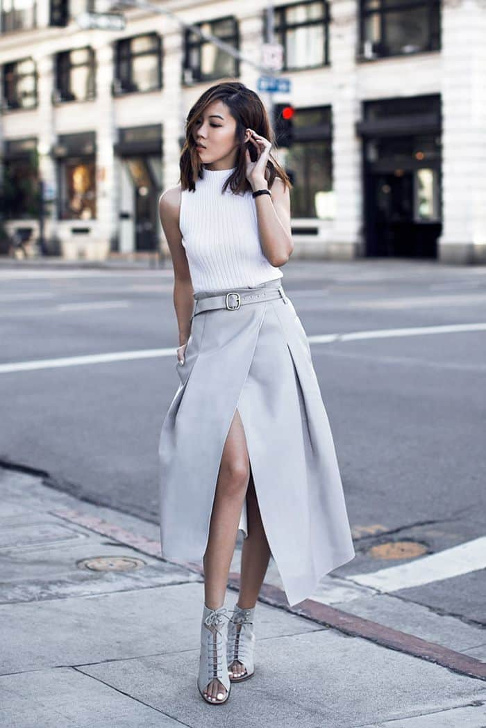 Street Style Office Wear Skirts The Fashion Tag Blog