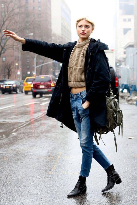 Flat Boots: A Million Ways to Wear Them