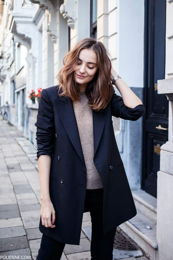 Long Oversized Blazers: 2017 Autumn's IT Trend