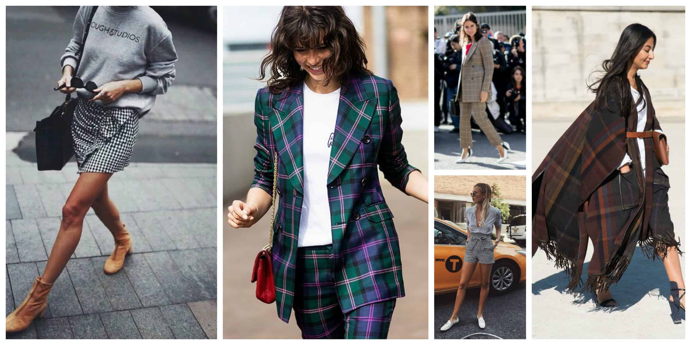 e63d63fa0db 2018 Trend  How To Wear PLAID Without Looking Dated  – The Fashion ...