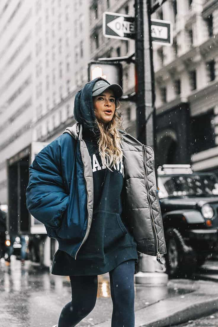 Oversized Puffer Jackets 2018 Trend Street Style 23 The Fashion Tag Blog