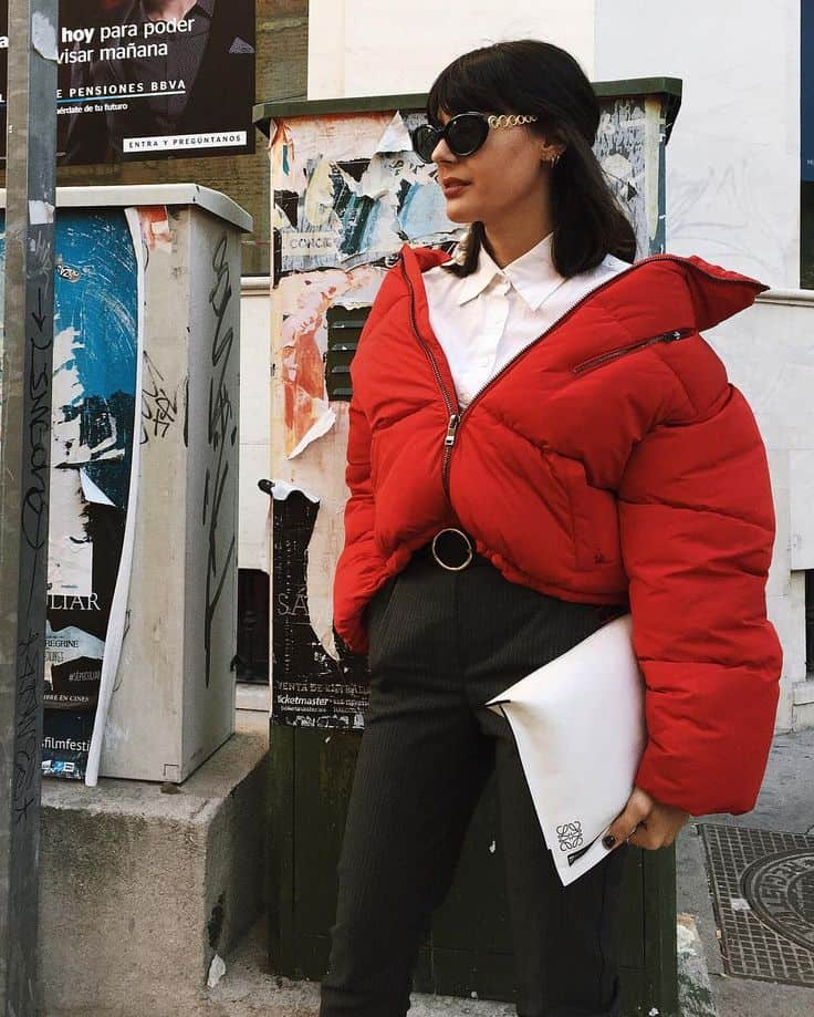 Oversized Puffer Jackets 2018 Trend Street Style 47 The