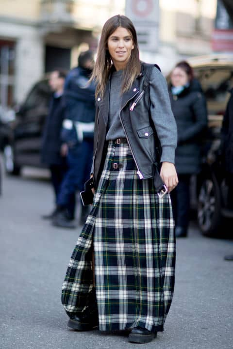 2018 Trend How To Wear Plaid Without Looking Dated The