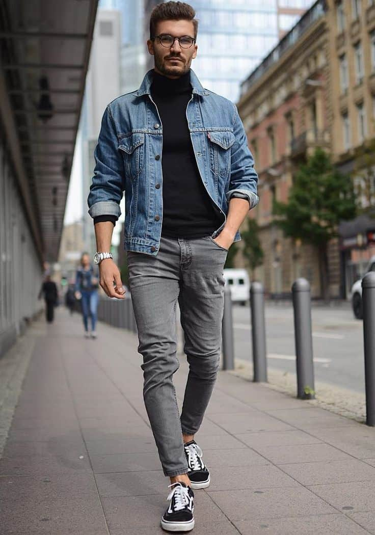 Men 39 S Fashion Why You Should Wear A Turtleneck T Shirt Men S This Season The Fashion Tag Blog