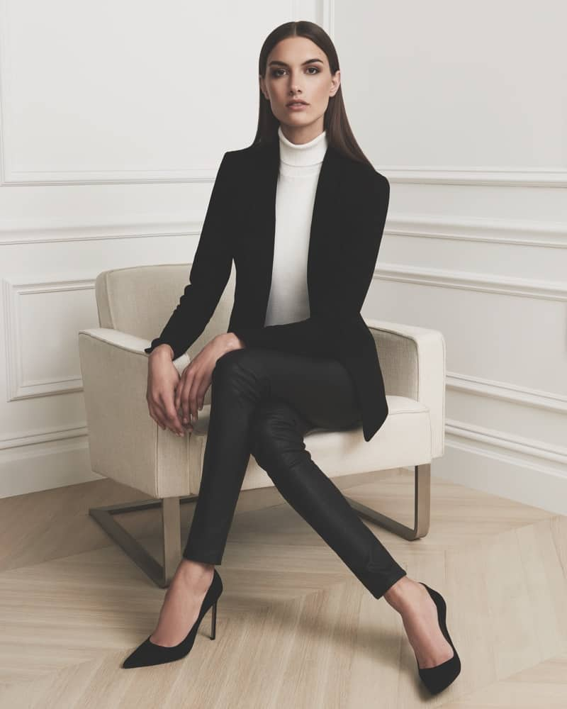 How To Wear A Black Blazer Outfit To Office Without ...