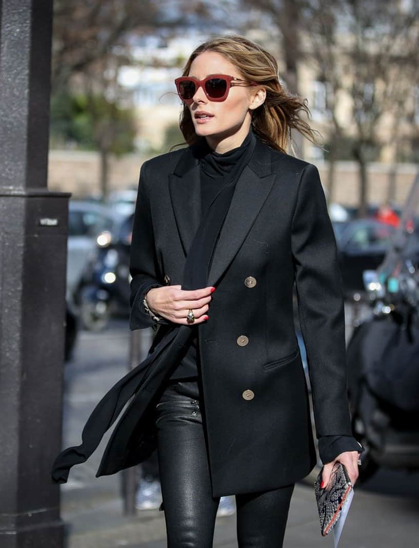 How To Wear A Black Blazer Outfit To Office Without