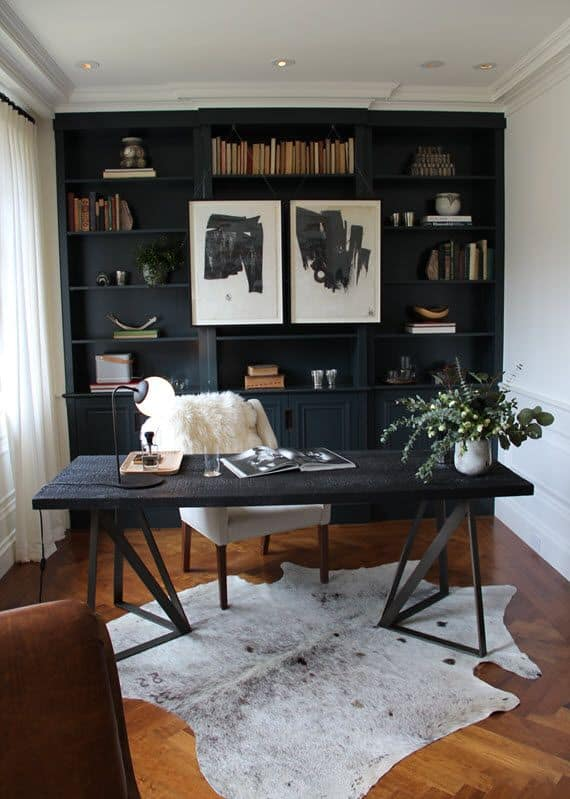 bloggers\u0027 office decor: glam white versus mysterious dark? \u2013 the fashion tag blog pictures for decoration