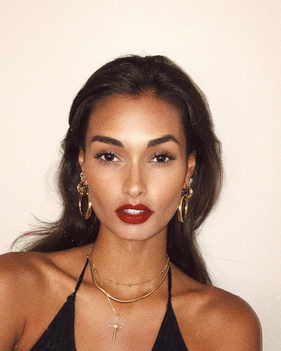 makeup looks beauty hair instagram bad trends eyes lips tips brown natural
