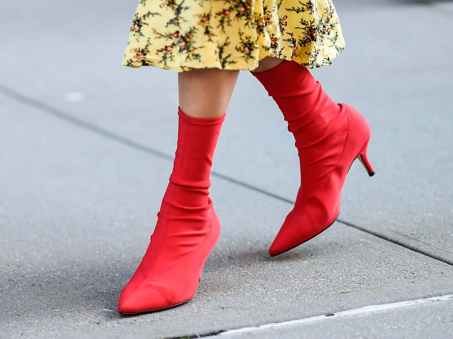 Red Boots: The 2018 Biggest Trend That