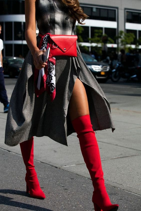 red-boots-2018-trend-street-style-26.jpg (564×846)