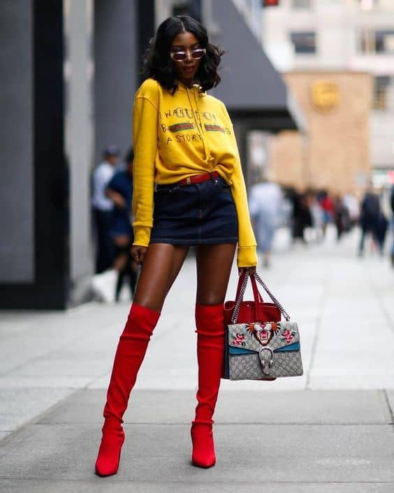 Red Boots The 2018 Biggest Trend That Goes With Everything The Fashion Tag Blog